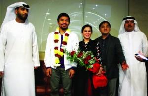 Manny Pacuiao Dubai