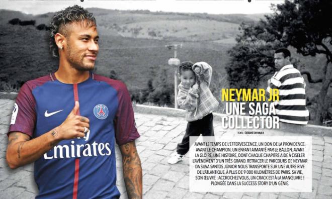 psg magazine neymar