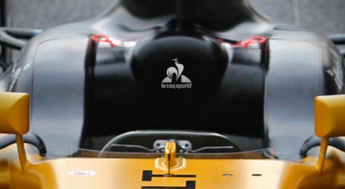 renault f1 le coq sportif