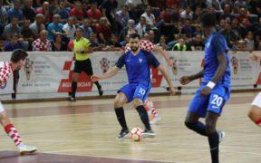 l'équipe futsal euro