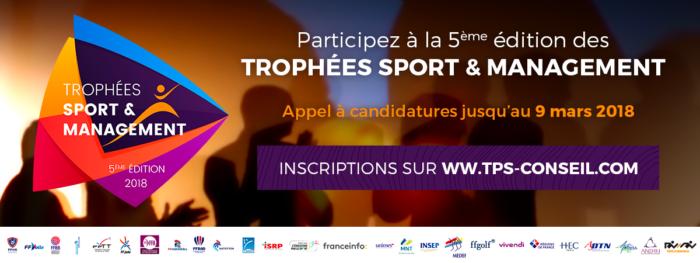 trophées sport management 2018