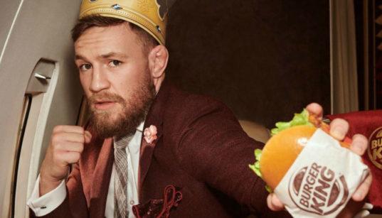 conor mc gregor burger king