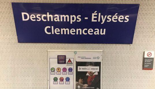 metro coupe du monde france football paris