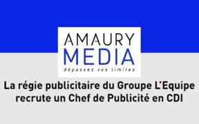 amaury média sport publicite l'equipe