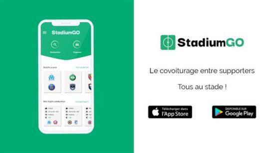 stadiumgo covoiturage football supporters sport